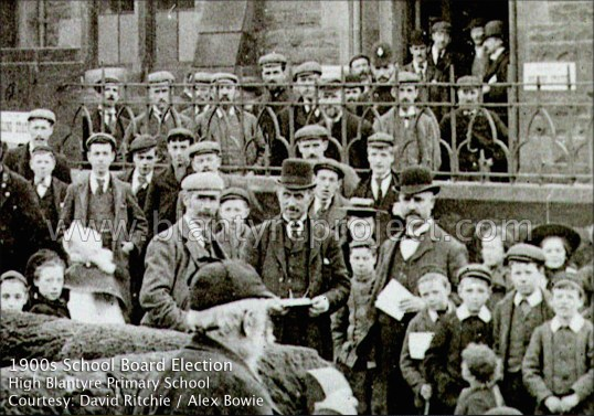 1905 Polling Day School Board election wm