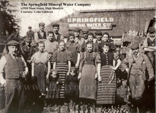 1910 Springfield Mineral Water Company wm