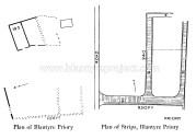 1930s Floor plan of Blantyre Priory
