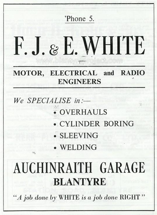 1950 Auch Garage advert wm