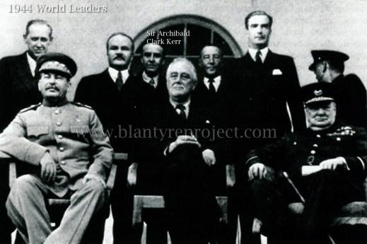 1944 world leaders & Sir Archie Kerr Clark