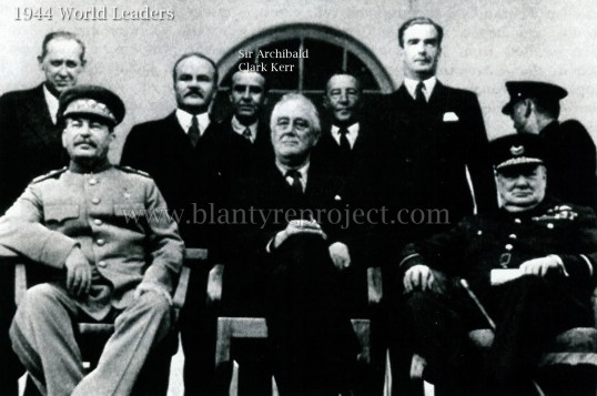 1944 world leaders & Sir Archie Kerr Clark