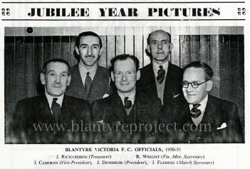 1950 Blantyre Vics Jubilee