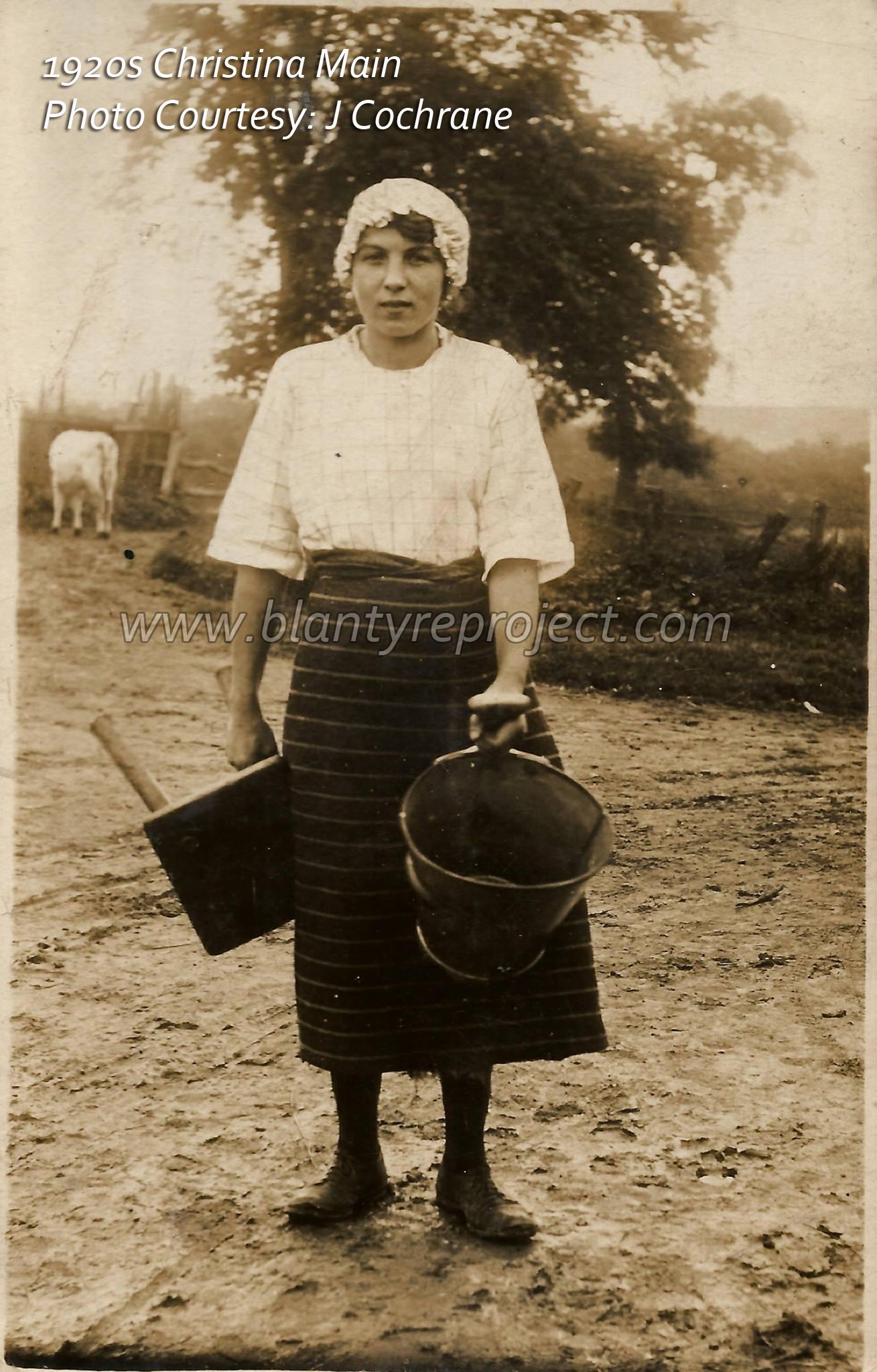 1920s Christina Main b1910