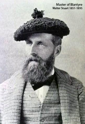 1880s Master of Blantyre, Walter Stewart
