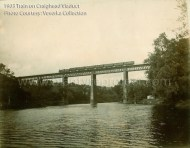 1903 Train on Craighead Viaduct
