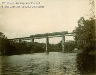 1903 Train on Craighead Viaduct