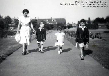1955 Park Family at Kirkton Park