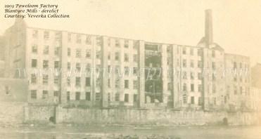 1903 Blantyre Mill Derelict