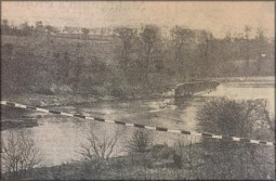 1950 New line for David Livingstone Memorial Bridge
