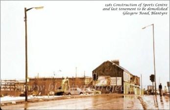 1980 Sports Centre Construction
