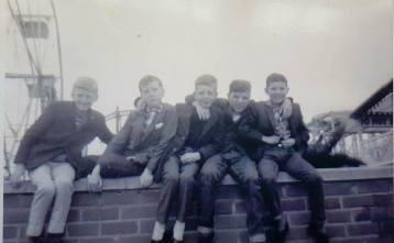 1970 Blantyre boys at the Fair