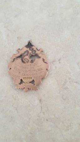 1921 Jardine's Vics Medal