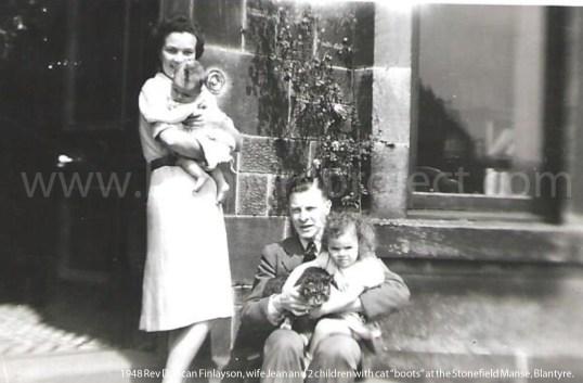 1948 Rev Duncan Finlayson & Jean wife wm