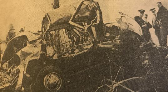 1967 Crash at Spittal