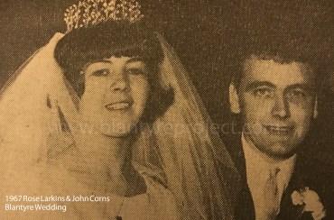 1967 Rose Larkins & John Corns