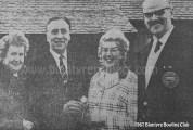 1967 Gavin Taylor & Alex Paterson at Bowling Club