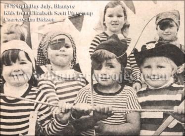 1978 Elizabeth Scott Playgroup at Gala day