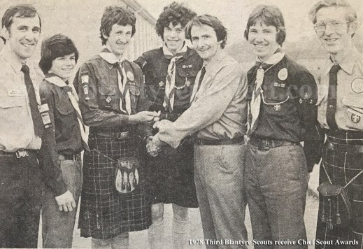 1978 Third Blantyre Scouts wm