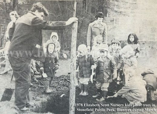 1978 Trees planted at Stonefield Park wm