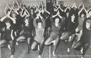 1978 Yoga at Community Centre in May