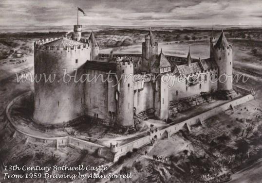 1300 Bothwell Castle wm