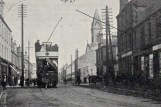 1903 Tram passes Turners Buildings