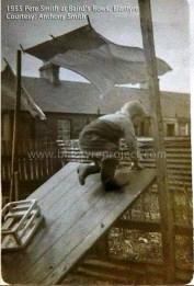 1955 Pete Smith at Bairds Rows