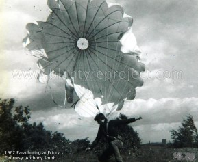 1962 Parachuting at Priory