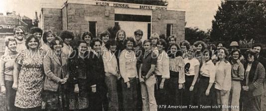 1978 American Teen Team