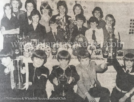 1978 Blantyre & Whitehill Accies wm
