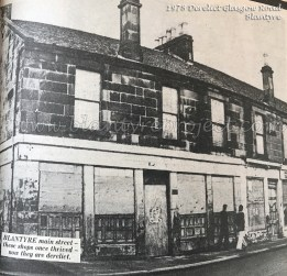1978 Glasgow Road boarded up