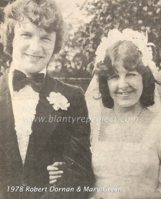 1978 Mary Green & Robert Dornan wm