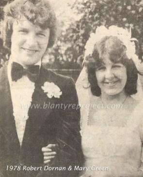 1978 Robert Dornan & Mary Green