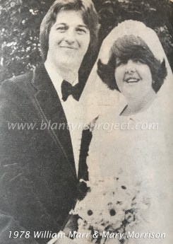 1978 William Marr & Mary Morrison