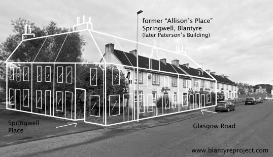 Location Line Allisons Place