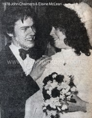 1978 Elaine McLean & John Chalmers