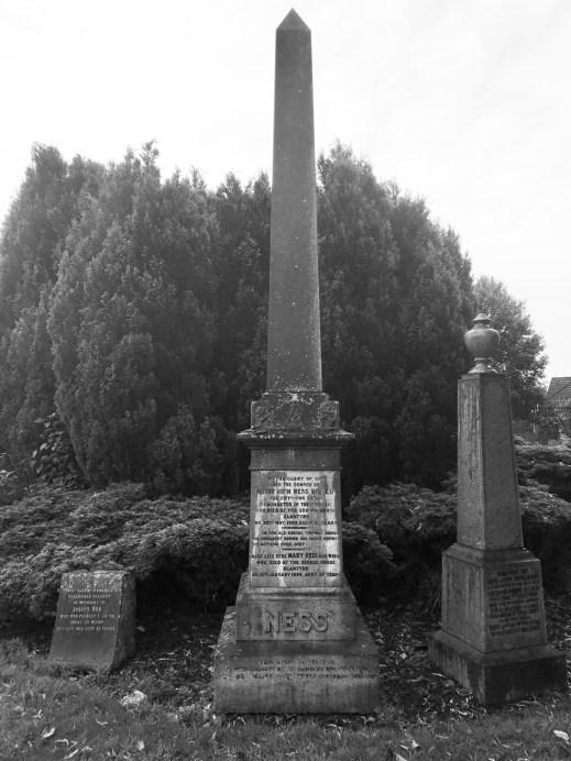 2017 Ness Headstone