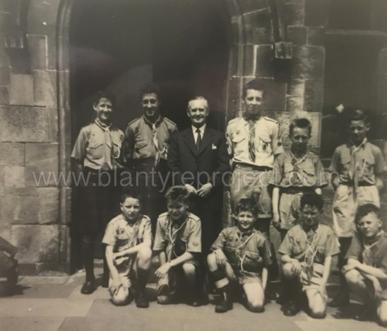 1960s scouts at High Blantyre wm