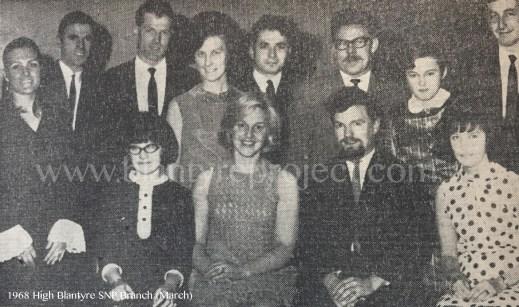 1968 High Blantyre SNP wm