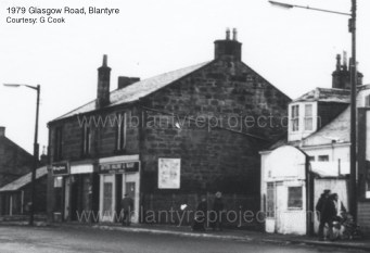 1979 Broompark Place, Clyde Cottages and Light shop