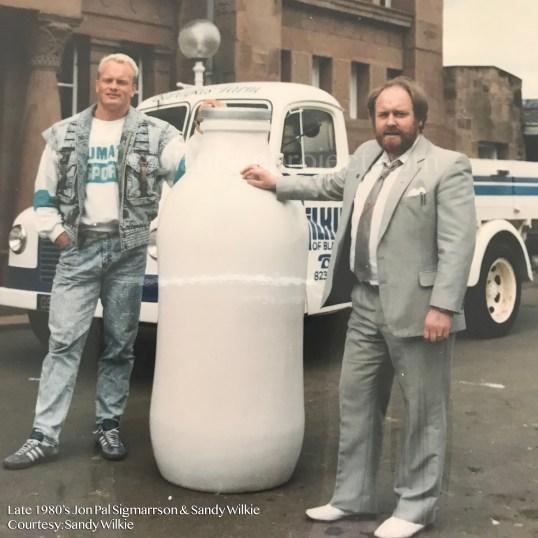 1980's John Pal, Sandy Wilkie and Wilkie pickup wm