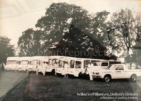 1980s Wilkies of Blantyre wm