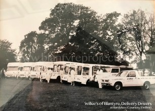 1980s Wilkies Vehicles & Drivers