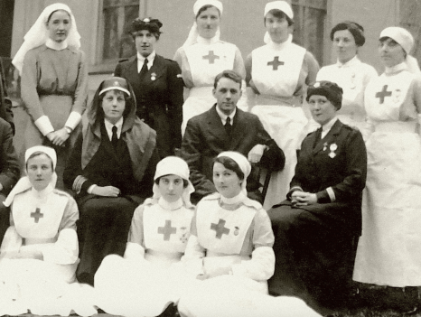 WW1 Medical Staff at Caldergrove