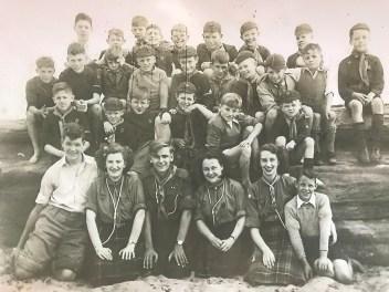 1950s Blantyre cubs & scout leaders
