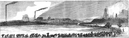 1877 sightseers Blantyre illustration