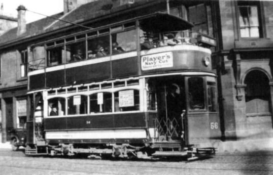 1920 Tram in Blantyre copy