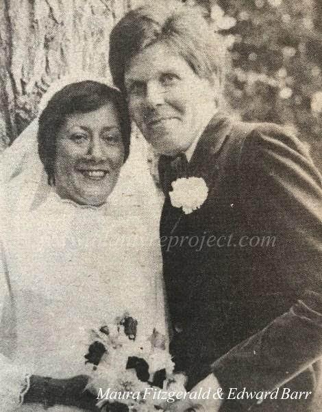 1978 Maura Fitzgerald & Edward Barr wm