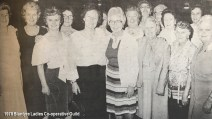 1978 Blantyre Ladies Co-operative Guild xmas night